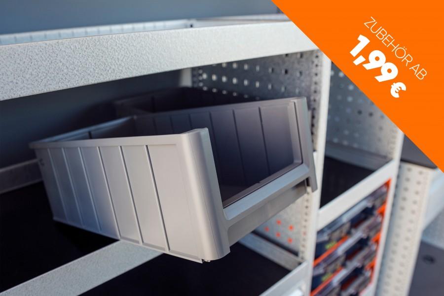 Modulboxen gehören zum umfangreichen Zubehörangebot von Work System.