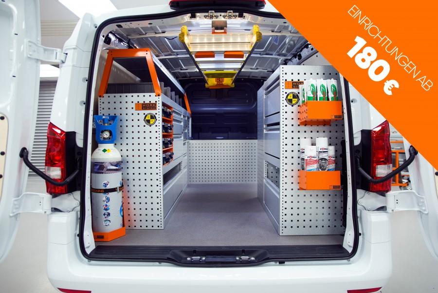 Fahrzeugeinrichtung Fahrzeugregale Online Kaufen Work System