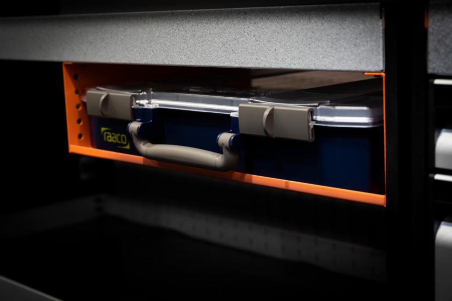 Sortimentkästen und -schubladen für Ihre Fahrzeugeinrichtung