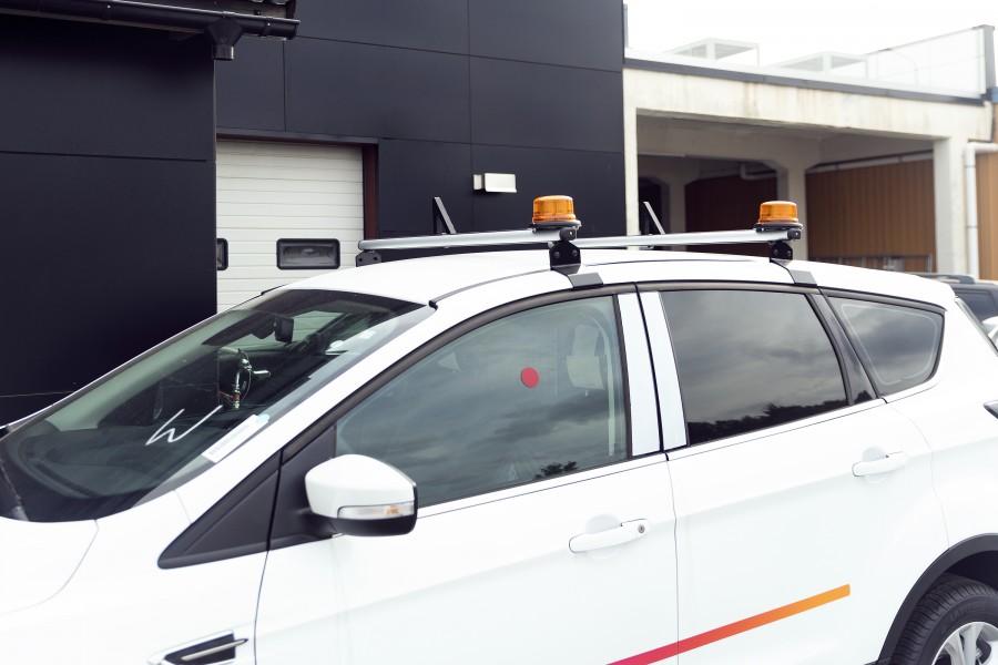 Lastenstopper für die Ladungssicherung auf dem Dach