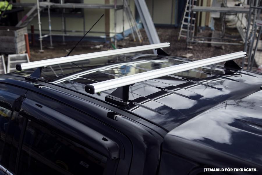 2x Dachträger für Combo & Doblo Seitenansicht