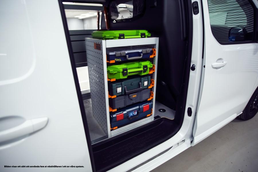 Kofferhalterung passend für Dewalt, Makita, Bosch und Co.