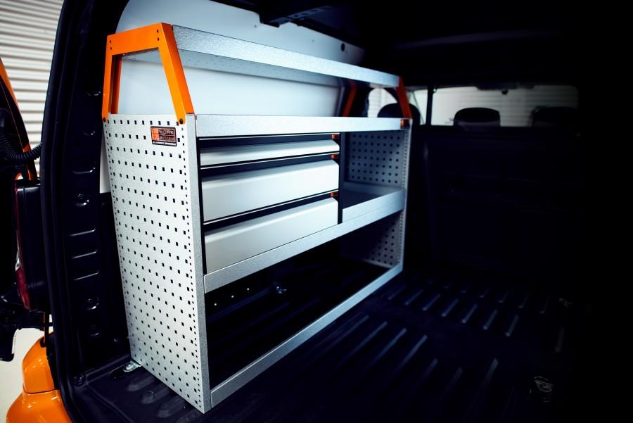 V-LS3 Fahrzeugregal für VW Caddy als Bild