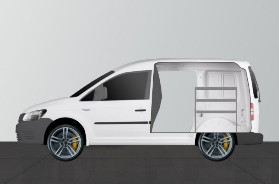 Fahrzeugregal H-Basic von Work System