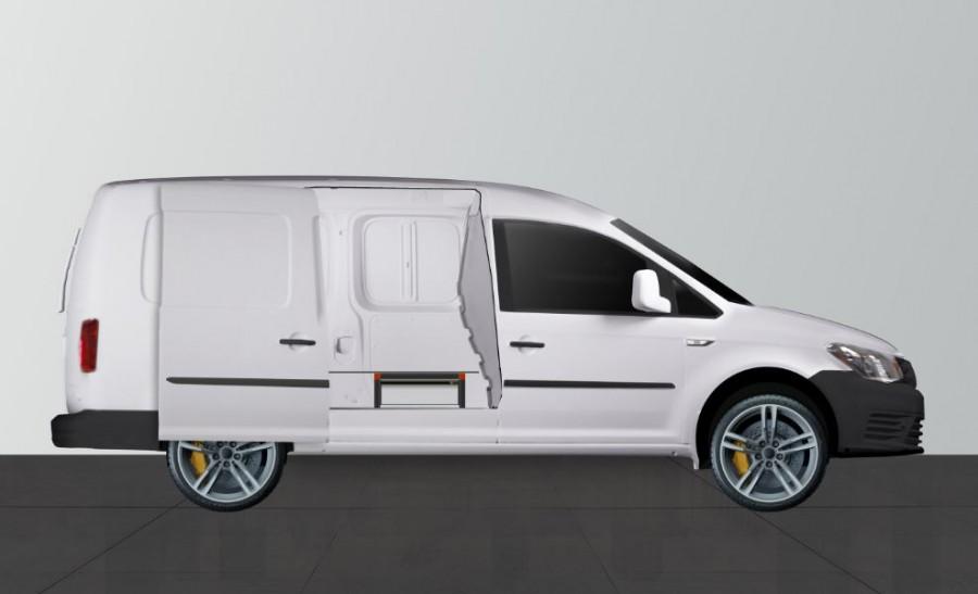UNTERFLUR H21 Caddy Maxi 3 SCHUBLADEN