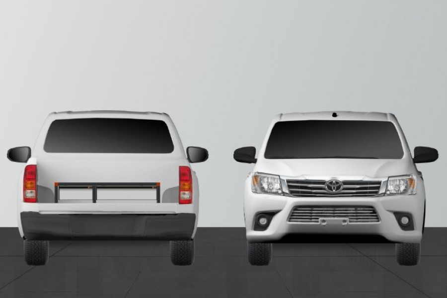 Unterflursystem Toyota Hilux H22 | Work System