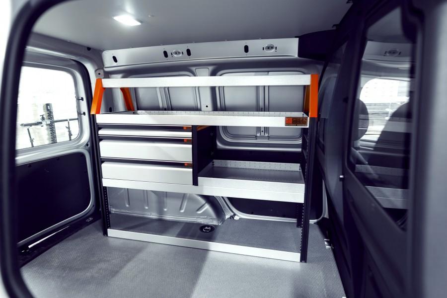 V-LS3 Fahrzeugregal für VW Caddy | Work System