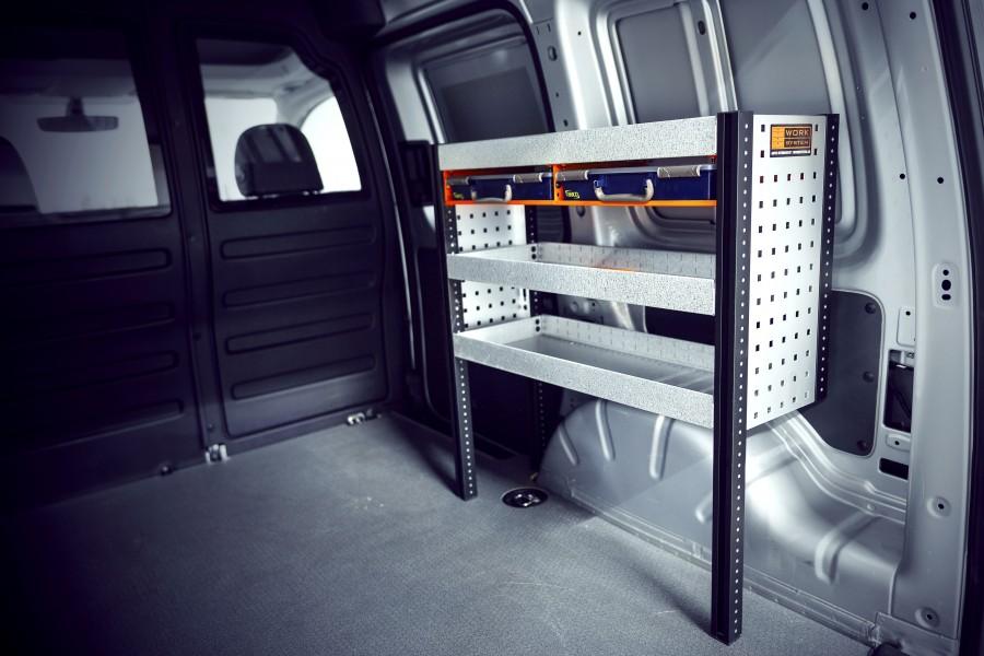 H-SS2 Fahrzeugregal für VW Caddy   Work System
