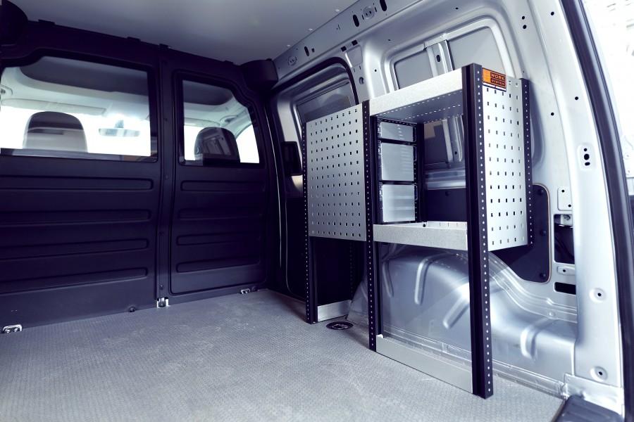H-SD3S Fahrzeugregal für VW Caddy | Work System