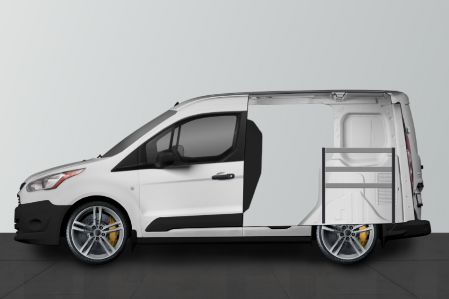 H-ECO Fahrzeugregal für Ford Connect L1   Work System